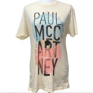 Paul McCartney On The Run Tour T-Shirt Siz…